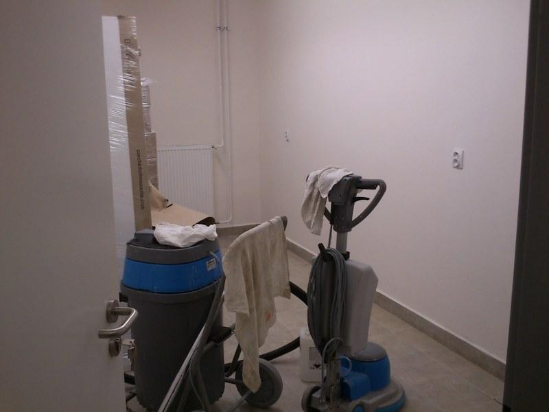 Upratovacie práce po stavbe